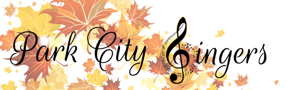Park City Singers Retina Logo